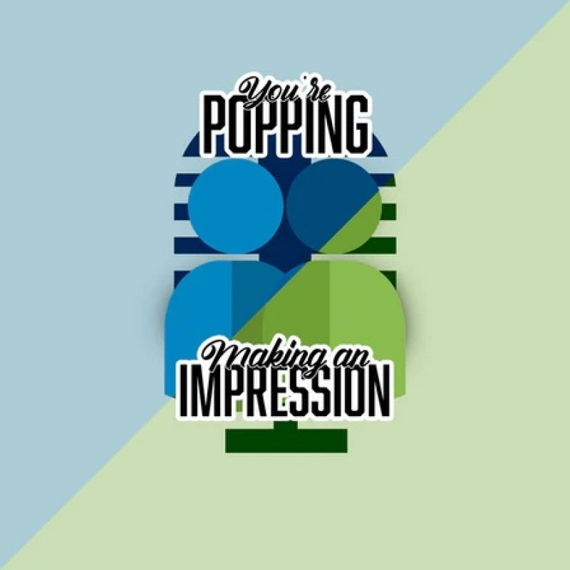 'Making An Impression / You're Popping' podcast presented by Simon Lipson.