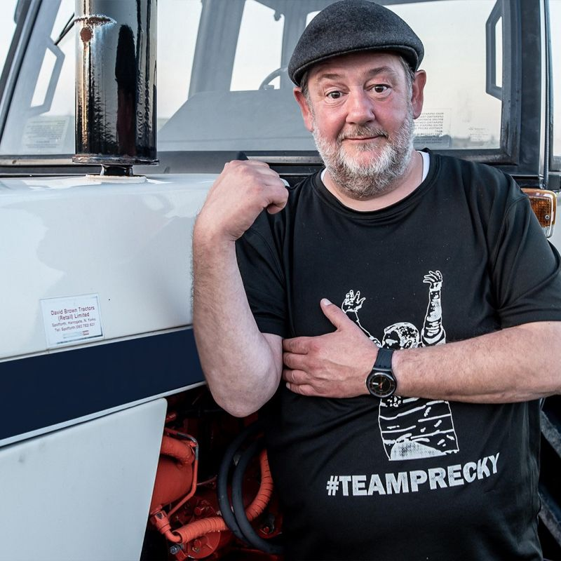 New documentary series 'Johnny Vegas: Carry on Glamping' narrated by Sian Gibson.