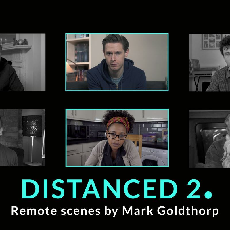 Award nominated series 'Distanced' returns, written and directed by Mark Goldthorp.
