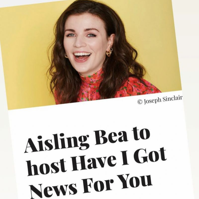 Aisling Bea to host 'Have I Got News For You'!