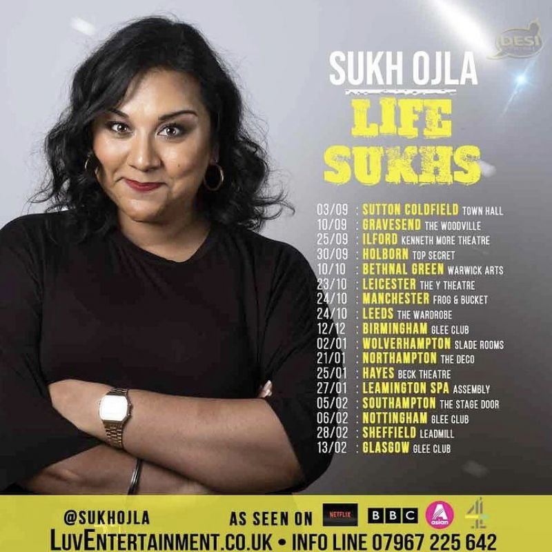 Sukh Ojla - Life Sukhs - Live Comedy at The Glee Club