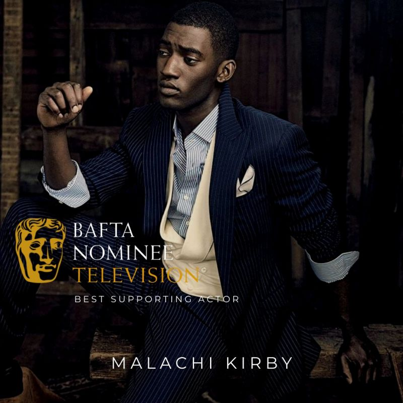 Huge congratulations to Malachi Kirby for his 2021 BAFTA win!
