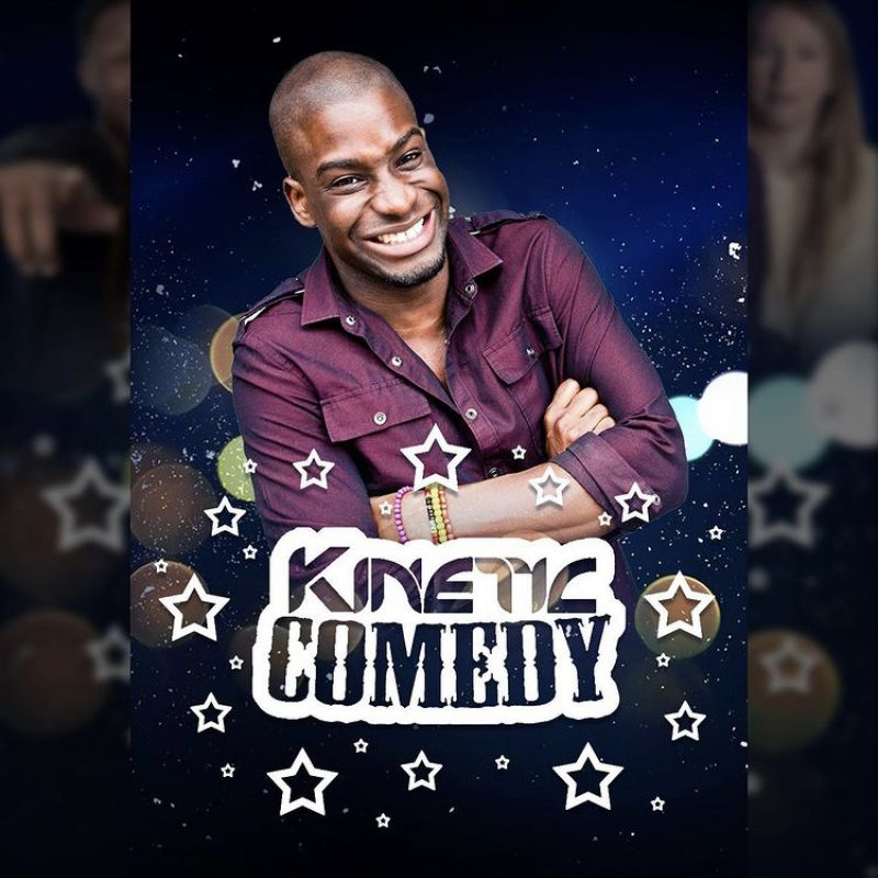 'Kinetic Comedy' is back with host Inel Tomlinson.