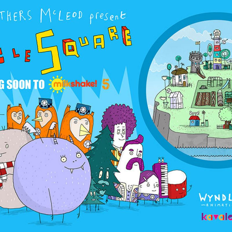 New children's animated comedy 'Circle Square' with voices from Kathryn Drysdale.