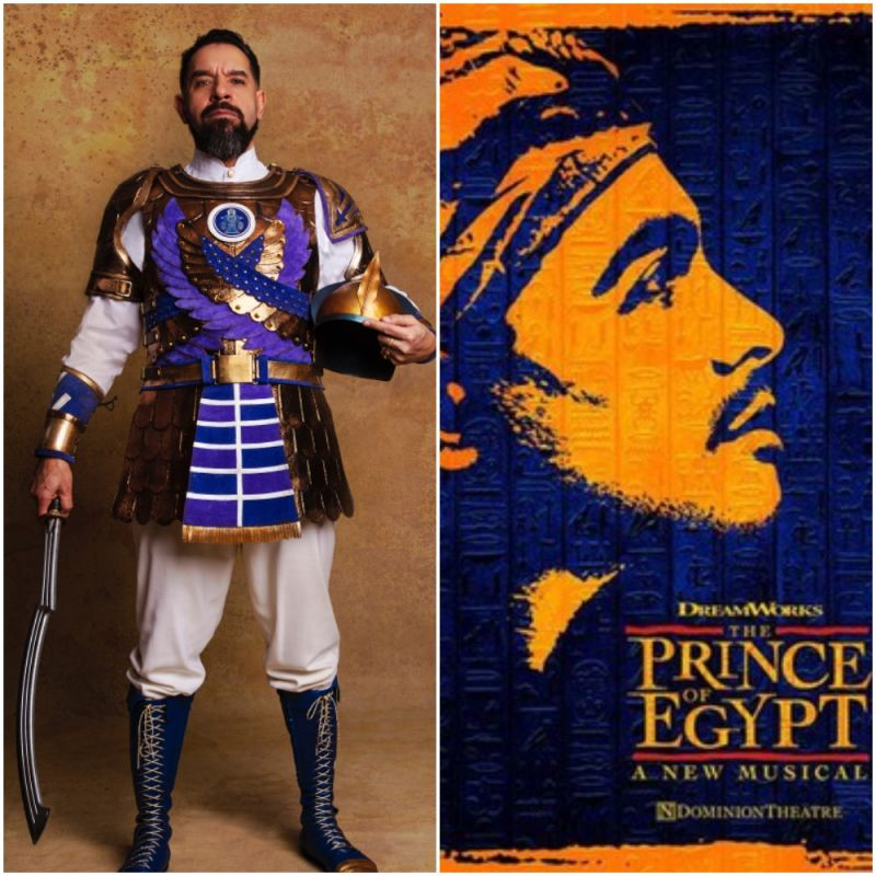 New stage show based on the classic Dreamworks film 'The Prince Of Egypt' starring Joe Dixon as Seti.