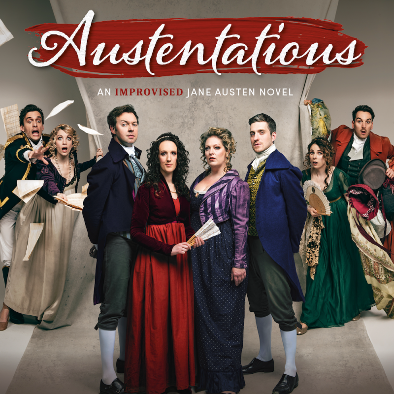 'Austentatious' Live at Fortune Theatre starring Cariad Lloyd.