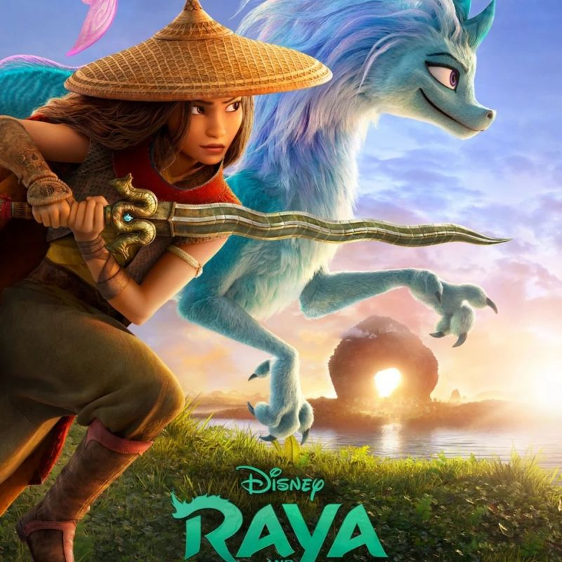 New animation 'Raya and the Last Dragon' with voices from Gemma Chan.