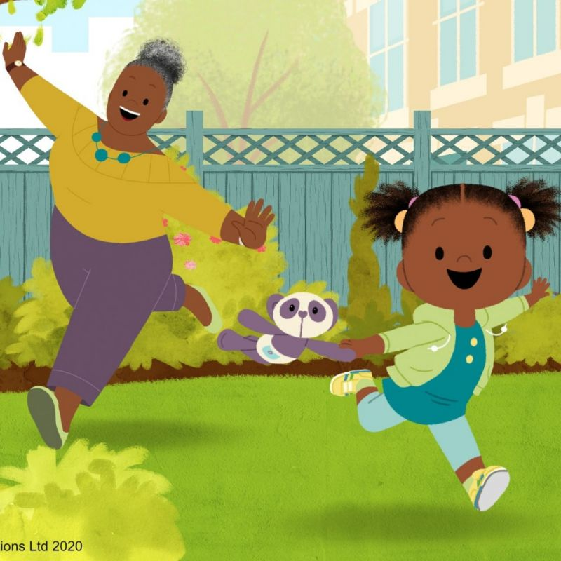 Summer episodes of 'Jojo and Gran Gran' will be on CBeebies Radio on BBC Sounds!