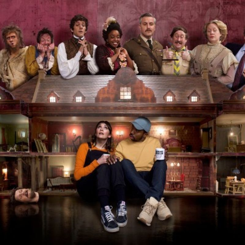 BBC One comedy, drama 'Ghosts' is back with its third series!