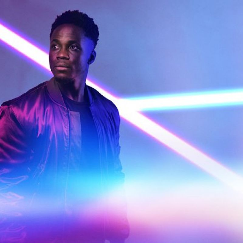 Live Theatre reopens with acclaimed production Shine by rapper and actor 'Kema Sikazwe'.