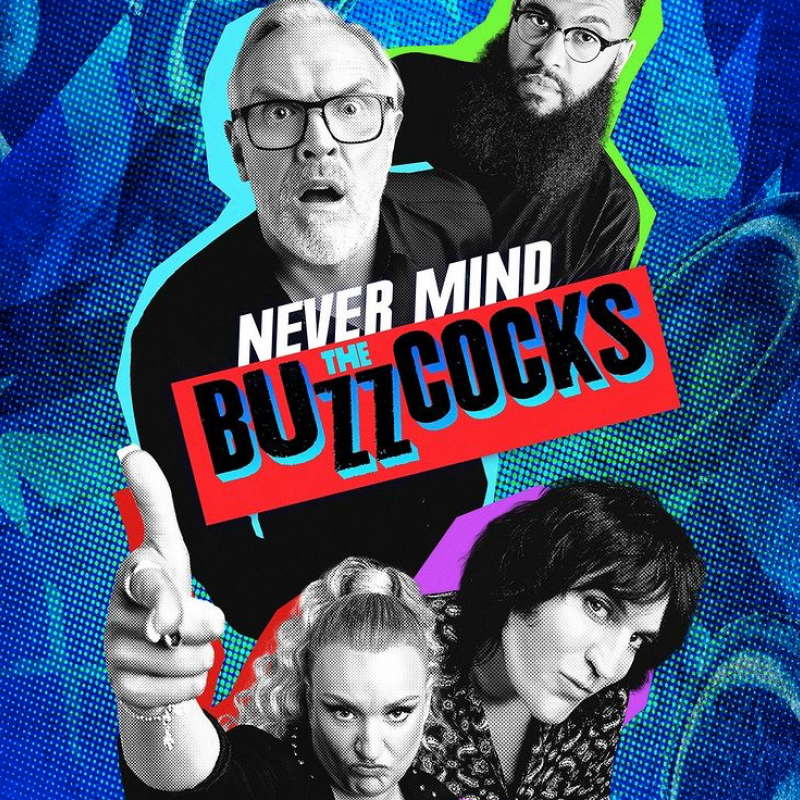 Never Mind The Buzzcocks is back, with new host Greg Davies!