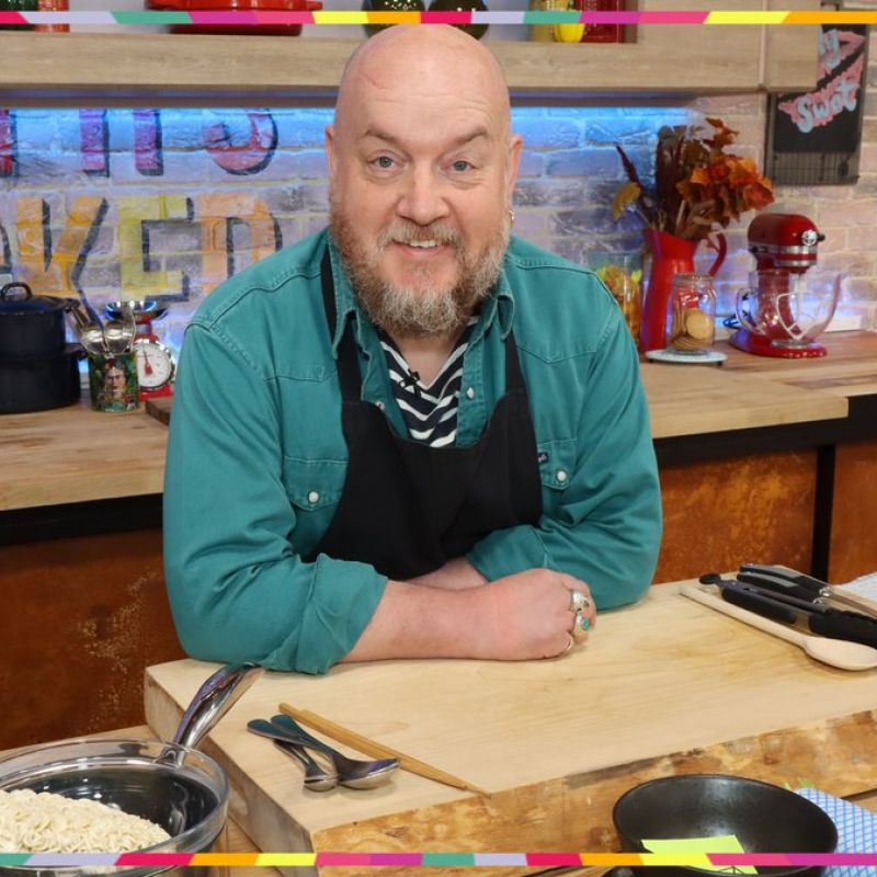 Catch George Egg on 'Steph's Packed Lunch'!