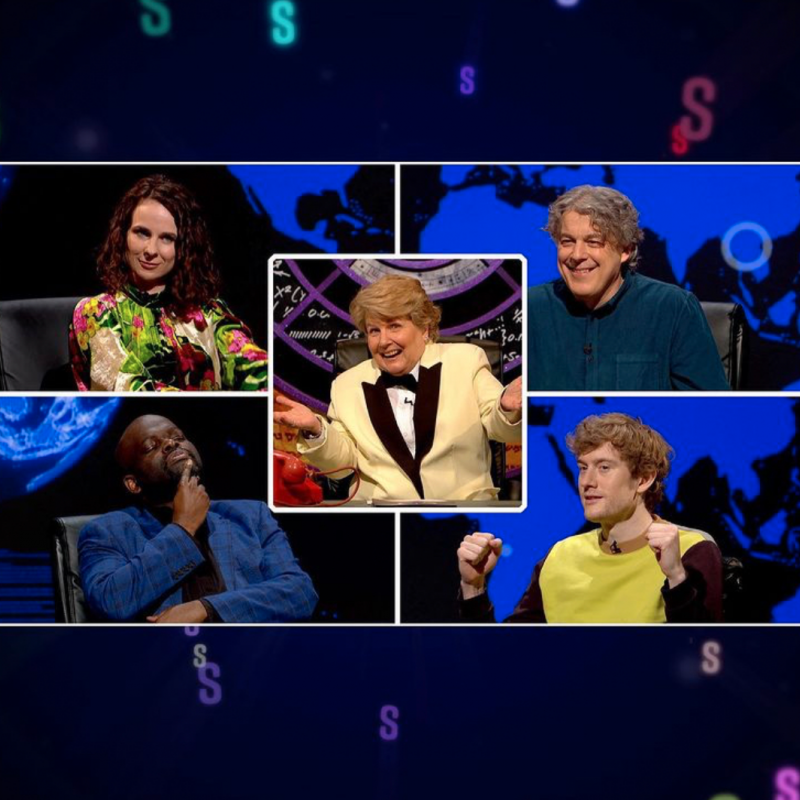 Don't miss James Acaster and Cariad Lloyd on QI!