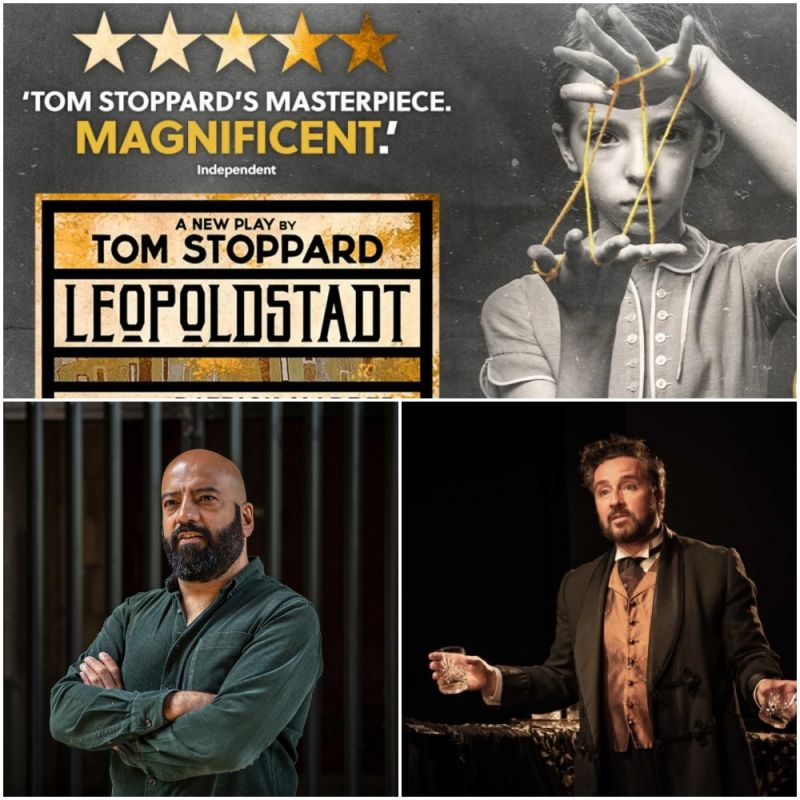 Catch Aaron Neil and Aidan McArdle in 'Leopoldstadt' at the Wyndham's Theatre.