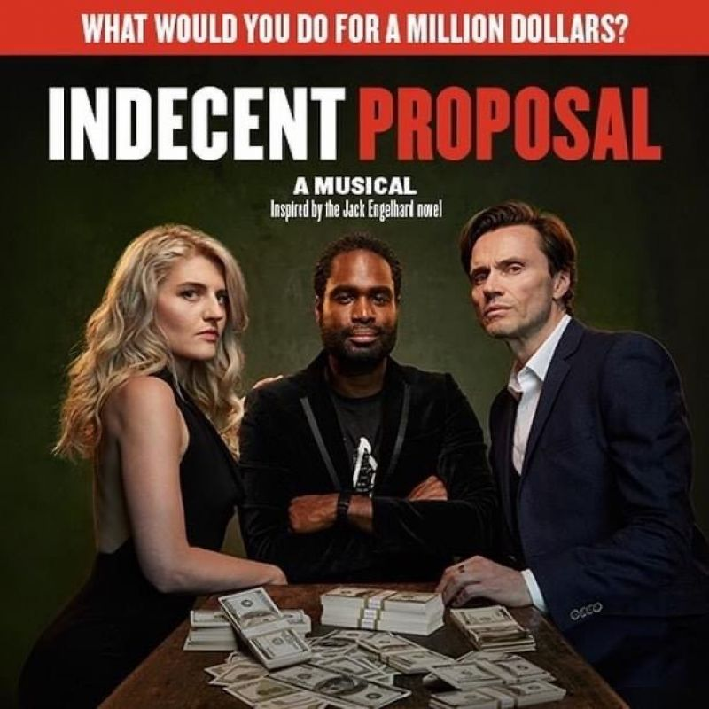 'Indecent Proposal' starring Ako Mitchell at the Southwark Playhouse.
