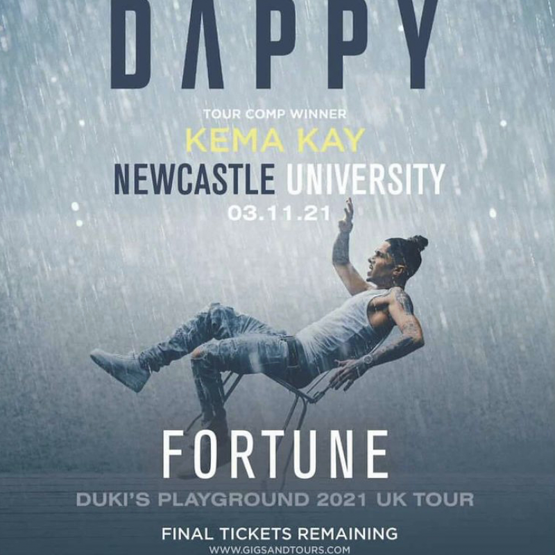 Kema Sikazwe's is on tour with Dappy!